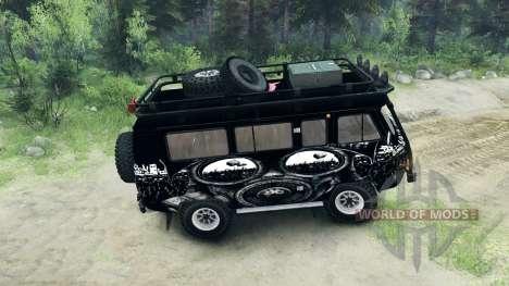 UAZ-3909 off-road-v3.0 für Spin Tires