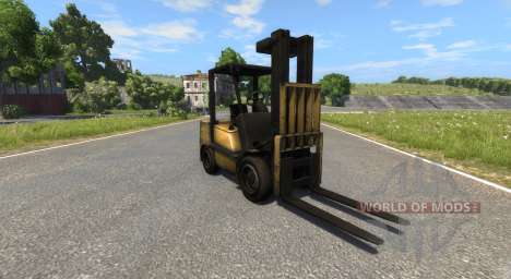 DSC Forklift pour BeamNG Drive
