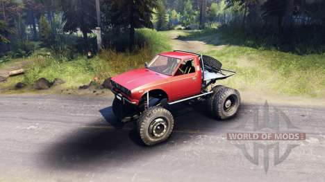 Toyota Hilux Truggy v0.9.9 pour Spin Tires