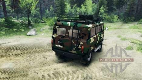 UAZ-3909 off-road v2.0 pour Spin Tires