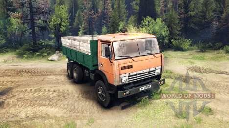 KamAZ-55102 pour Spin Tires