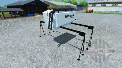 Réservoir de Lomma TX 118 pour Farming Simulator 2013