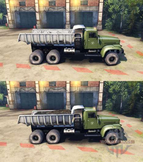 KrAZ-255B AC 8.5 Inflammable v2.0 pour Spin Tires