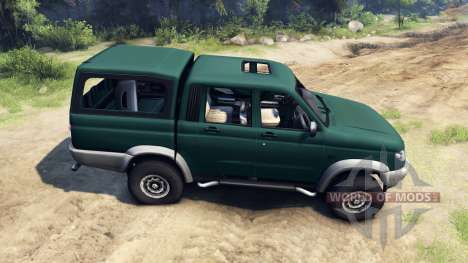 UAZ-23632 für Spin Tires