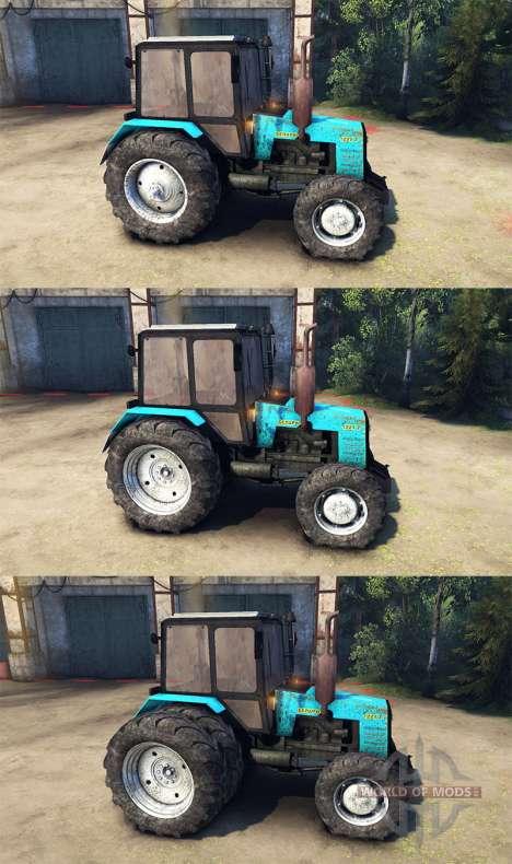 MTZ-1221 Weißrussland für Spin Tires