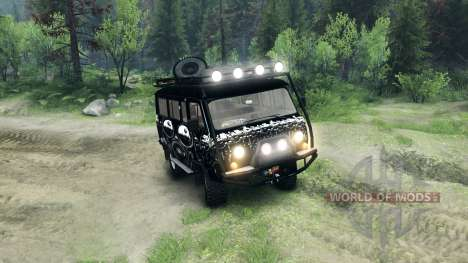 UAZ-3909 off-road v3.0 pour Spin Tires