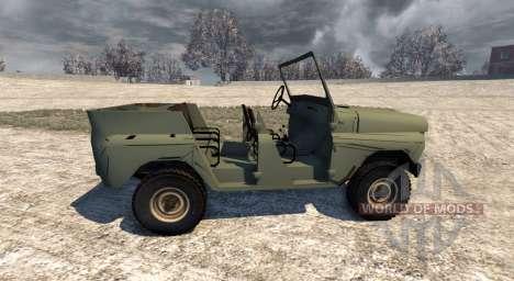 L'UAZ-469 pour BeamNG Drive