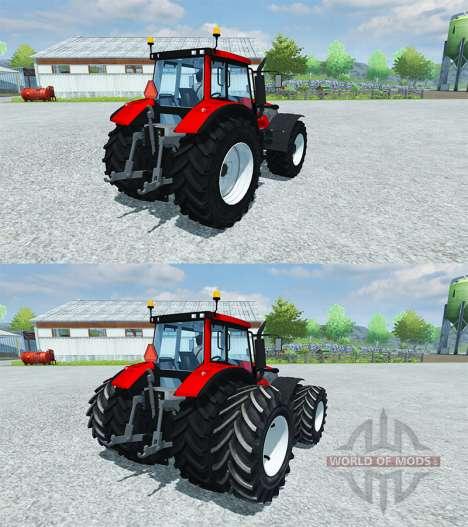 Valtra T162 versus pour Farming Simulator 2013