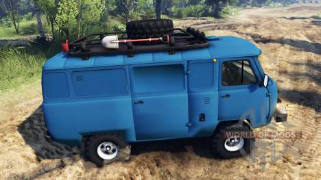 UAZ-452 pour Spin Tires