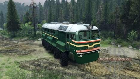 Die Diesellok M62 für Spin Tires