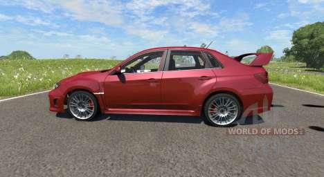 Subaru Impreza WRX STI 2011 pour BeamNG Drive