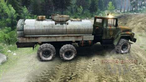 KrAZ-260 v1.1 pour Spin Tires