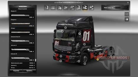 Accessoires Outdoor pour Euro Truck Simulator 2