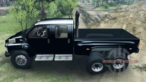GMC C4500 TopKick 6x6 pour Spin Tires