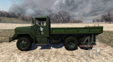 AM General M35A2 1955 pour BeamNG Drive