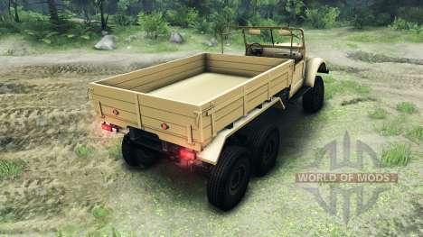 UAZ-456 pour Spin Tires