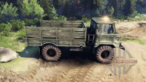 GAZ-66 v1.3 pour Spin Tires