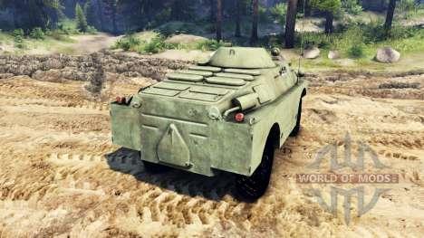 BRDM-2 für Spin Tires