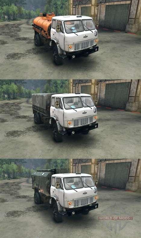 MAZ-509 für Spin Tires