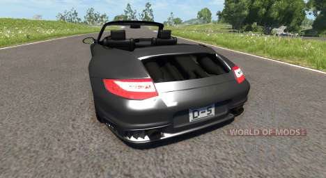 Porsche 911 Cabriolet für BeamNG Drive