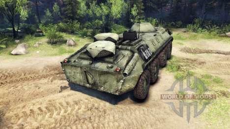 Der BTR-70 für Spin Tires