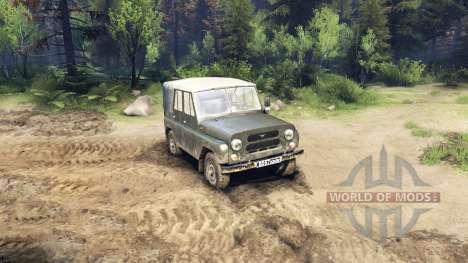 Der UAZ-469 für Spin Tires