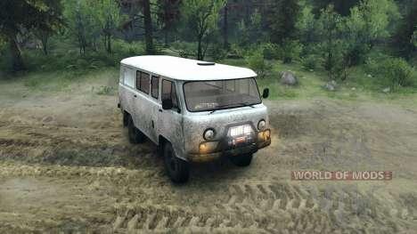 UAZ-3909 off-road pour Spin Tires