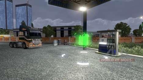 Changement de prix pour l'essence pour Euro Truck Simulator 2
