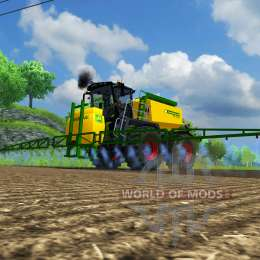 Tracteur CLAAS 3800 Selle Trac pour Farming Simulator 2013. Clairement