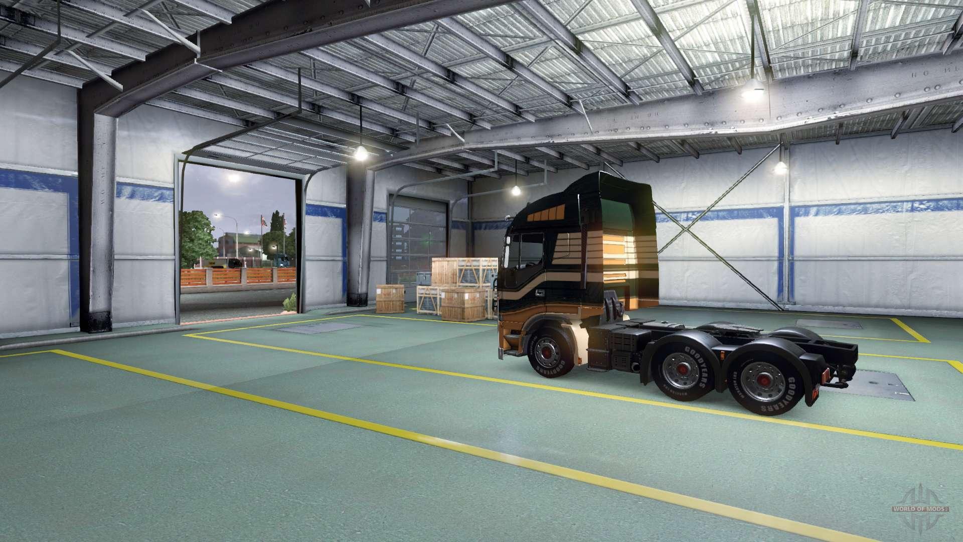 Auparavant ouverture de porte de garage pour euro truck - Porte de garage 5 metres ...
