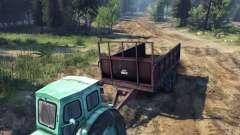 Remorque pour tracteur T-AM