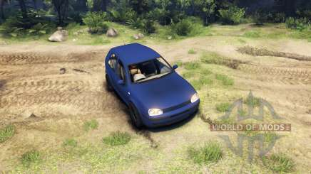Volkswagen Golf IV pour Spin Tires
