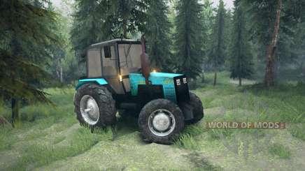 MTZ-1221 Biélorussie pour Spin Tires
