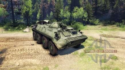 Le BTR-70 pour Spin Tires