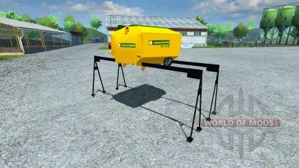 Réservoir d'Amazone TX 118 pour Farming Simulator 2013