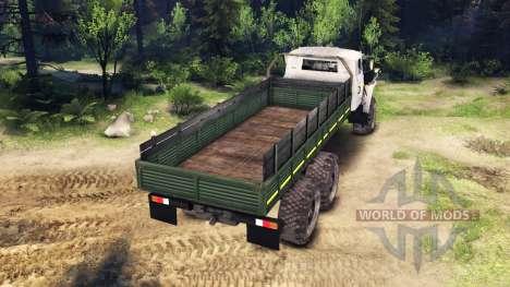 Ural-4320-0911-30 v2.0 für Spin Tires