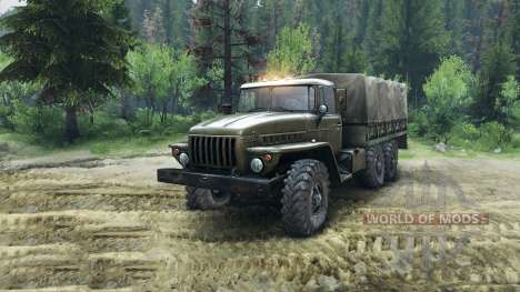 Ural-4320-Chassis für Spin Tires