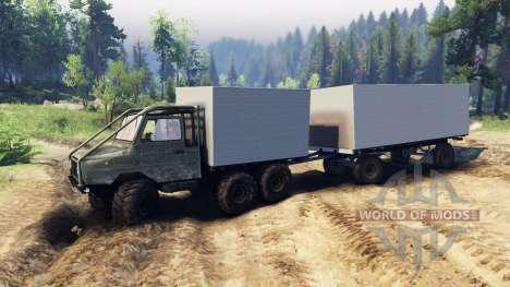 LuAZ-13021 6x6 für Spin Tires