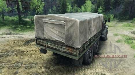 Ural-4320 Châssis pour Spin Tires