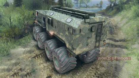 MAZ-535 Monster für Spin Tires