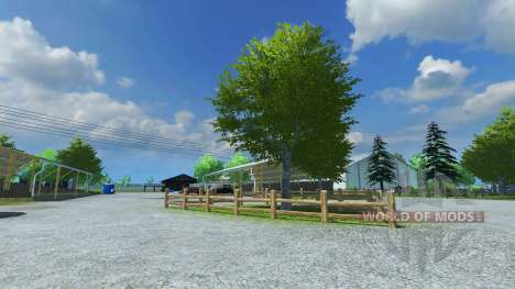 La Reconstruction de la ferme v9 pour Farming Simulator 2013