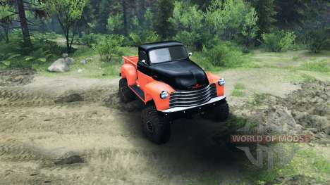 Chevrolet 3100 Pickup UMT 1951 pour Spin Tires