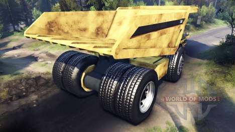 Dump truck [mise à Jour] pour Spin Tires