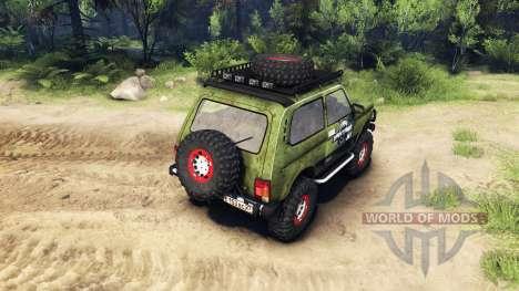 VAZ 2121 Niva für Spin Tires