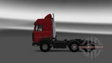 MAZ 5432 v4.0 für Euro Truck Simulator 2