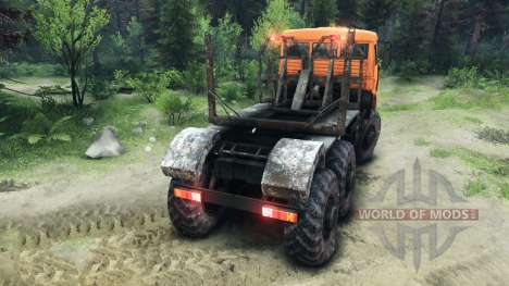 KamAZ-6520 Monstre pour Spin Tires