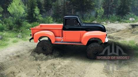 Chevrolet 3100 Pickup UMT 1951 für Spin Tires
