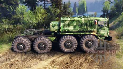 MAZ-535 camo v1 für Spin Tires