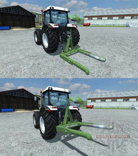 Music-Menges Bale Lifter für Farming Simulator 2013