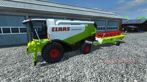 CLAAS Lexion 550 v1.5 pour Farming Simulator 2013